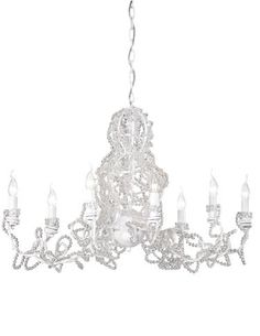 The Ancora Collection from Eurofase has a unique and sophisticated design with elegantly entwined crystal beads. TM 4002. www.eurofase.com