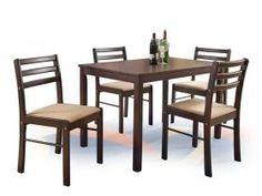 Jídelní set New Starter Dinning Table, Dining Bench, Dining Chairs, Dining Sets, New Starter, Espresso, Living Room Decor, Orzo, Starters