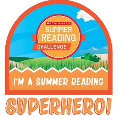 Have you registered for the 2016 Summer Reading Challenge? Share this fun summer badge with pride! Let's get kids reading this summer! Click to learn more. #summerreading