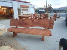 The Longhorn, a great country classic. Add character and charm to your garden with this NZ made bench. Buy Now: http://www.macsmacrocarpa.co.nz/page12.html