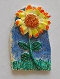 Artsonia Art Exhibit :: Van Gogh Sunflowers clay