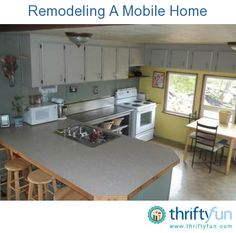 This is a guide about remodeling a mobile home. Remodeling a mobile home is not the same as working on a stick built house, but still maybe the better alternative to buying a new home.