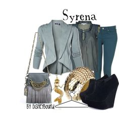 Syrena, created by lalakay on Polyvore