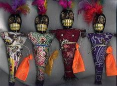Article about voodoo dolls.  http://www.crispydisc.com/article/18373/Get-To-Know-The-Different-Voodoo-Dolls.html