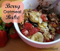 Baked oatmeal is wha