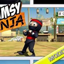 Clumsy Ninja v1.18.0 MOD APK [Unlimited Coins/Gems] - Android Game