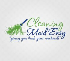 cleaning maid easy logo design by kimbec creative