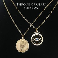 Amulet of Orynth and the Eye of Elena from Throne of Glass  These are so beautiful! Too bad it's not the real Amulet of Orynth...