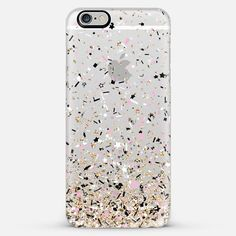 Gold Pink Black and White Confetti Explosion iPhone 6 Plus Case by Organic Saturation | Casetify. Get $10 off using code: 53ZPEA
