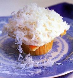 cupcakes are overrated. however, ina garten's coconut ones are not.