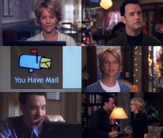 You've Got Mail  - one of the very few rom coms that I love