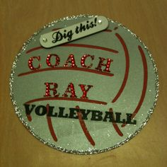 Volleyball locker decoration