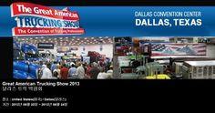 Great American Trucking Show 2013 달라스 트럭 박람회