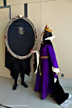 mirror costume | Ottawa Comiccon 2014 - Adventures as Evil Queen and Magic Mirror