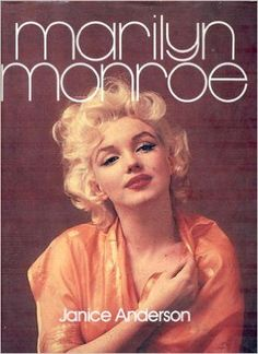 Marilyn In A Photo By Hal Berg On The Cover Of Monroe Janice Anderson Hardcover Book Dust Jacket Published Random House United Kingdom