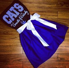 University of Kentucky Game Day Dress ❤️