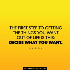 Before you can go after what you want and before you can get what you want…you…