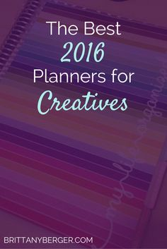 Do you still use a paper planner? Here are next year's best planners and calendars for creative entrepreneurs.