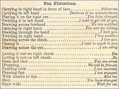 Fan Flirtations