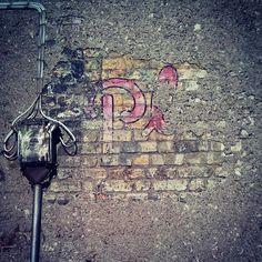 Hidden under brickwork, Weaver's Square, Dublin Dublin Ghost Signs