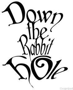 #AliceinWonderland I wanna go down the rabbit hole on my birthday.. just gotta find the hole.