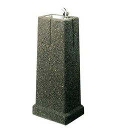 Halsey Taylor 4591 Outdoor Stone/Concrete Drinking Fountain - Outdoor Drinking Fountains - miw.co.uk