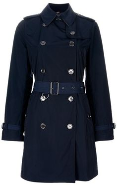 Burberry Brit Trench Coat in Blue Burberry Outfit, Burberry Scarf, Burberry  Trench Coat, 6aad9059342