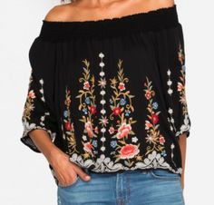 Harleth Off Shoulder Top Off Shoulder Tops, Off Shoulder Blouse, Holiday Boutique, Shopping, Women, Fashion, Moda, Women's, La Mode