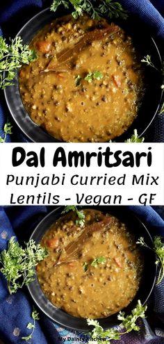Urad Dal Recipes, Lentil Recipes, Vegetarian Recipes, North Indian Recipes, Indian Food Recipes, Easy Cooking, Cooking Recipes, Lentil Curry, Indian Snacks