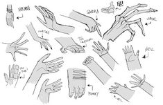 Living Lines Library: ParaNorman (2012) - Character Design Hand Reference, Anatomy Reference, Drawing Reference, Character Design Tutorial, Character Design Inspiration, Comic Style, Laika Studios, Flat Drawings, Cartoon Sketches