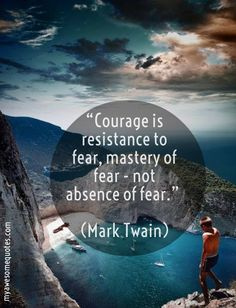 Mark Twain Quote About Courage - Awesome Quotes About Life Post Quotes, Me Quotes, Mark Twain Quotes, Courage Quotes, Quotes About Everything, My Bible, For Everyone, Fun Facts, Dads