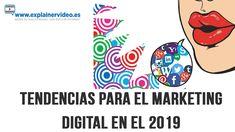 Las mejores tendencias de marketing digital para el 2019 Marketing Digital, Snoopy, Fictional Characters, Board, Get Well Soon, Trends, Fantasy Characters