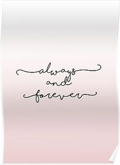 Always and Forever - The Originals / The Vampire Diaries Poster Couple Tattoos, Love Tattoos, Beautiful Tattoos, Family Quote Tattoos, Best Friend Tattoo Quotes, Pretty Tattoos, Tatoos, Forever And Always Tattoo, Forever Tattoo