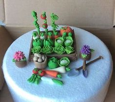Edible-cake-toppers-Hobby-Vegetables-Garden-Allotment-Man-Birthday