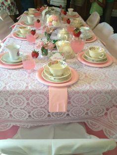 Shabby chic tea party