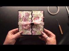Prima marketing garden fable boxpage tutorial - YouTube