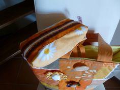 Borsa in tessuto idrorepellente con astuccio di I sogni nel cassetto su DaWanda.com