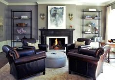 Classic Chic Home: Create a Conversation Area with Club Chairs