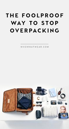 How to stop overpacking once and for all.