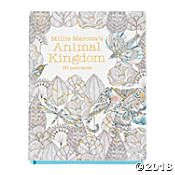 Animal Kingdom Coloring Postcards