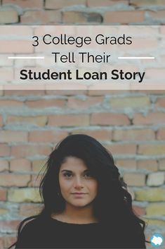 If you have recently graduated from college or you are about to graduate, you may be worried about your loan debt and how you plan to pay it off. Many students worry about this and the debt can cause a burden for those who struggle to make the payments each month. Before you panic, consider the following stories from students who were in your situation once before. You can gain some insight, gather ideas, and then work toward paying off your student loan debt.