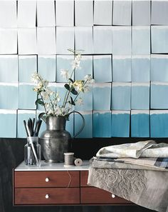 paint squares for wallpaper