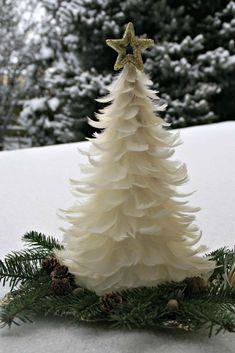 40 Elegant Christmas Tree Decor Ideas 9 – Home Design Elegant Christmas Trees, Christmas Tree Crafts, Noel Christmas, Christmas Projects, All Things Christmas, Winter Christmas, Christmas Tree Decorations, Holiday Crafts, Christmas Ornaments