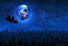 moonsanta Christmas And New Year, Winter Christmas, Astro 2016, Faeries, Astrology, Northern Lights, Sci Fi, Fantasy, Angel
