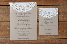 tortacsipkés esküvői meghívók