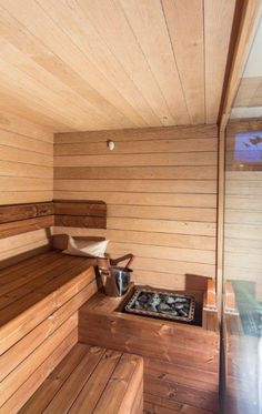 Soukromá rodinná sauna v Brně - Sauna. Saunas, Chalets, Steam Room