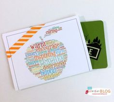 Teacher Appreciation Card Holder 3