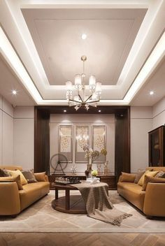 6 Creative Ideas: False Ceiling Dining White Kitchens false ceiling living room with chandelier.False Ceiling Ideas Built Ins false ceiling dining interiors. Living Room Lighting Design, Interior Design Living Room, Living Room Designs, Room Interior, Modern Interior, House Ceiling Design, Home Ceiling, Modern Ceiling Design, House Design