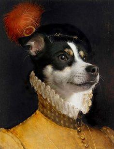 The Proud Squire - Anthropomorphic portrait