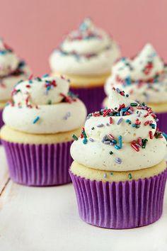 Vanilla Bean Cupcakes Recipe